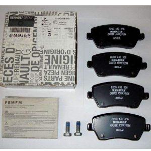 لنت ترمز جلو رنو مدل 410608481R مناسب برای رنو ساندرو اتوماتیک و وانت L90 (تولید ایتالیا)