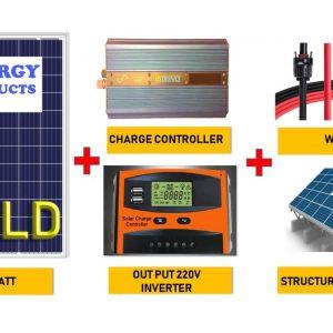 پکیج برق خورشیدی 6000 واتی برای ویلا